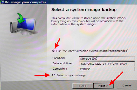 Win7 restore image step5