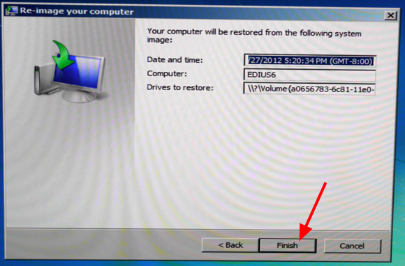 Win7 restore image step8