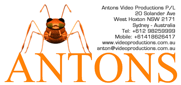 Contact Antons Video Productions