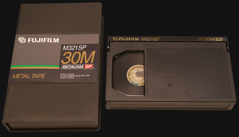 Betacam SP to Digital Transfer