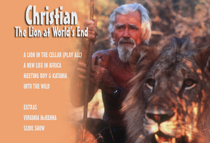 Christian The Lion DVD