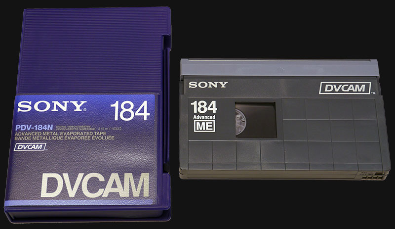 DVCAM Tape to Digital Transfer
