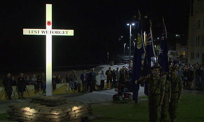 Anzac Day Dawn Service Cronulla - 100 years