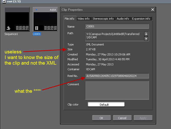 XDCAM EX clips [Archive] - Grass Valley Forums